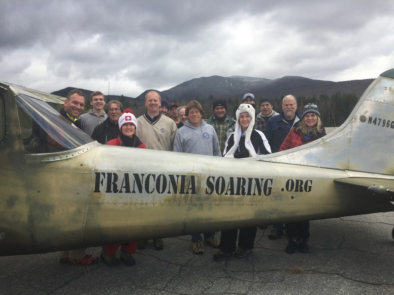 Franconia Soaring Association, glider rides, flying lessons